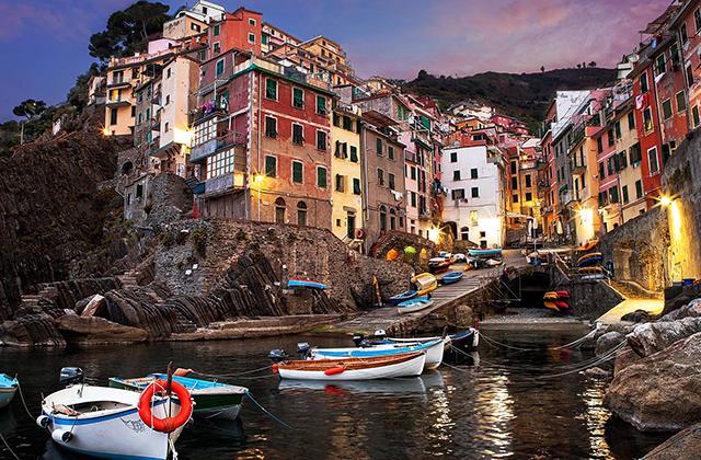 Piccole città d'Europa belle