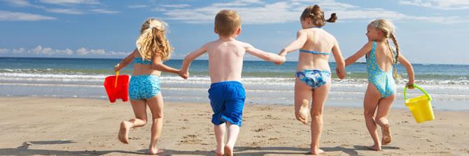 Dove andare al mare con bambini e bimbi piccoli